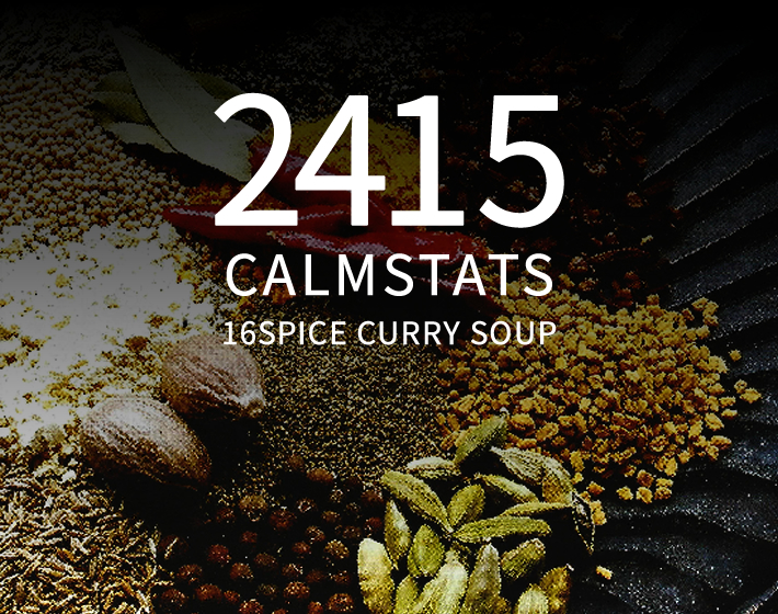2415 CALMSTATS 16SPICE CURRY SOUP