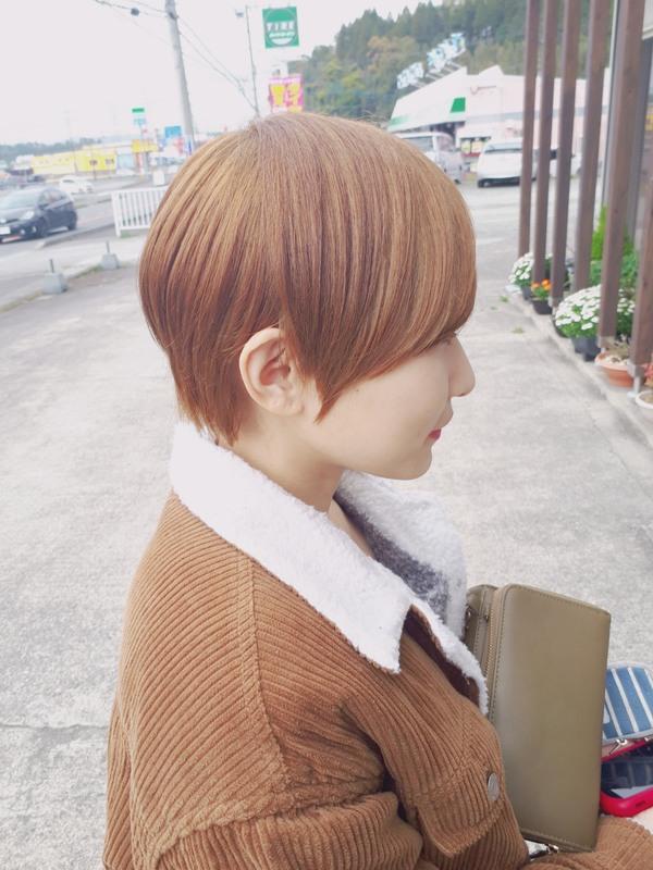 【薩摩川内市の美容室トゥールトロー】lady'sヘアスタイル①のサムネイル