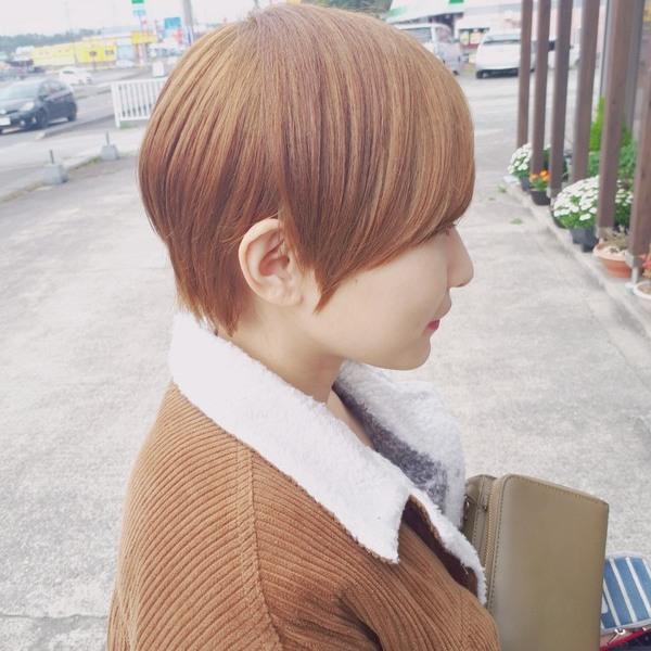 【薩摩川内市の美容室トゥールトロー】lady'sヘアスタイル①