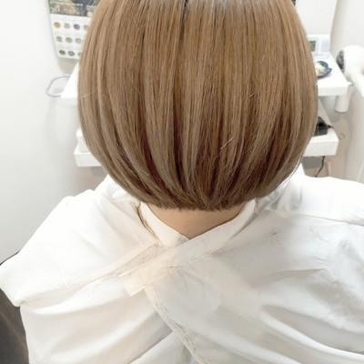 【薩摩川内市の美容室トゥールトロー】lady'sヘアスタイル②