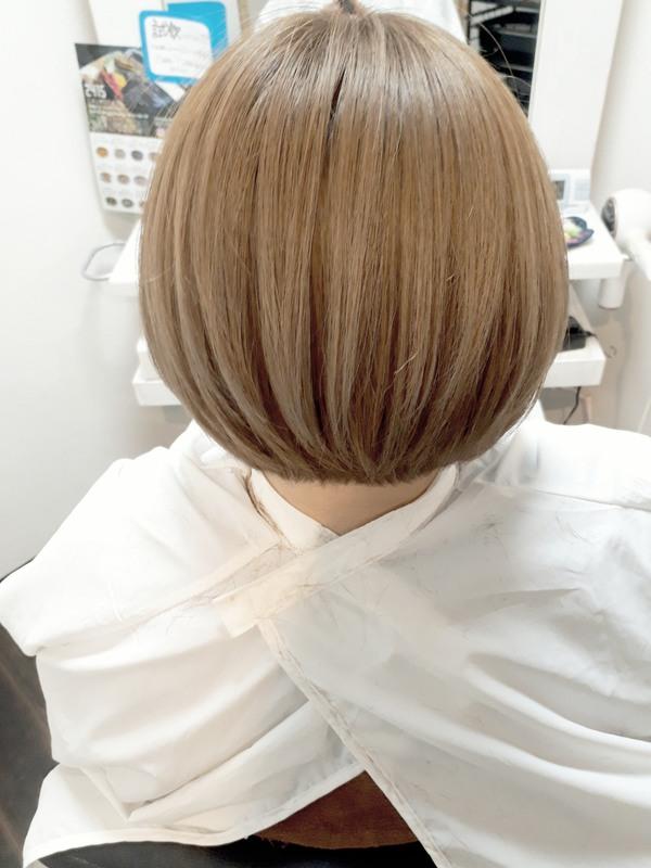 【薩摩川内市の美容室トゥールトロー】lady'sヘアスタイル②のサムネイル