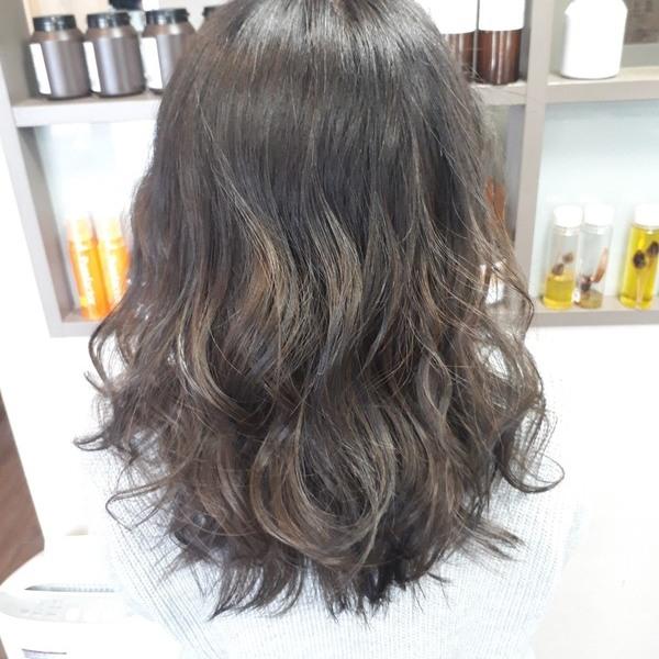 【薩摩川内市の美容室トゥールトロー】lady'sヘアスタイル④