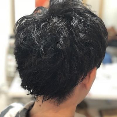 薩摩川内市の美容室トゥールトロー メンズスタイル②